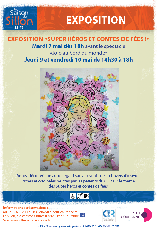 "Exposition de patients ""Super héros et contes de fées !"""