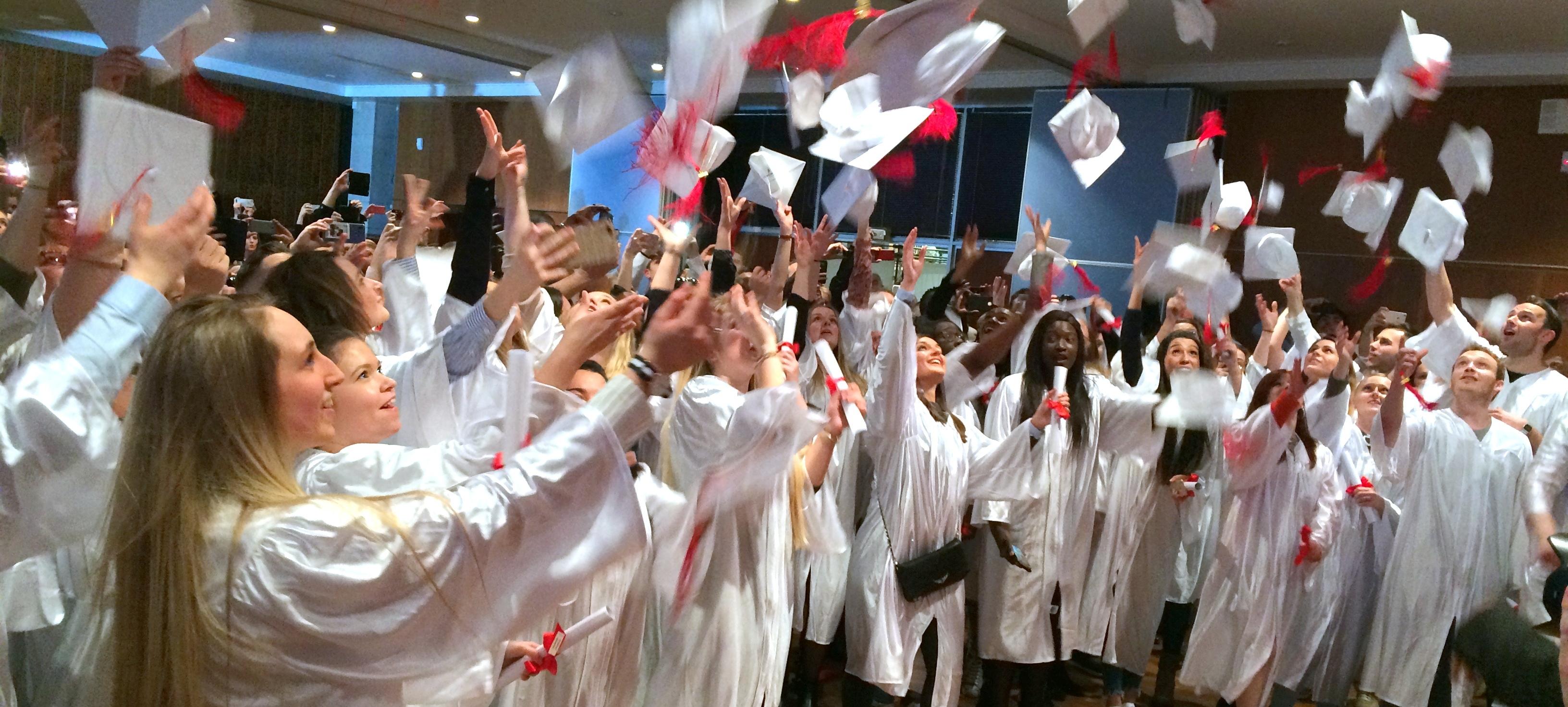 Cérémonie de remise des diplômes de l'IFSI
