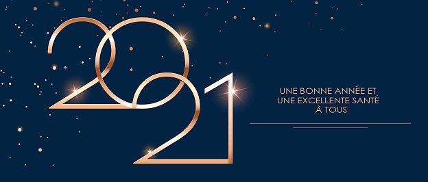 Nous vous souhaitons une bonne année et une excellente santé !